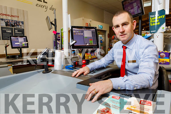 Paul O'Connor Manager of Supervalu Listowel hoping to recruit extra staff from persons who may have been made unemployed due to the national emergency.