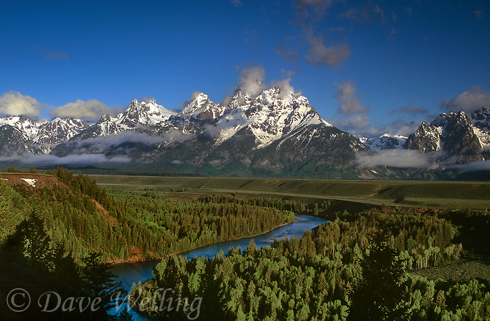 749451013 a clearing summer storm over the tetons from the snake river overlook in grand tetons national park wyoming