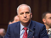 National Geospatial-Intelligence Agency (NGA) Director Robert Cardillo testifies before the United States Senate Committee on Intelligence during a hearing to examine worldwide threats on Capitol Hill in Washington, DC on Tuesday, February 13, 2018<br /> Credit: Ron Sachs / CNP