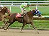 Full of Fiesta winning at Delaware Park on 9/30/09