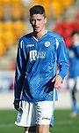 St Johnstone FC....Season 2015-16<br /> Greg Hurst<br /> Picture by Graeme Hart.<br /> Copyright Perthshire Picture Agency<br /> Tel: 01738 623350  Mobile: 07990 594431