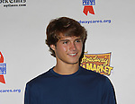 """One Life To Live's Andrew Trischitta """"Jack Manning"""" attends the 25th Annual Broadway Flea Market & Grand Auction to benefit Broadway Cares/Equity Fights Aids on September 25, 2011 in New York CIty, New York.  (Photo by Sue Coflin/Max Photos)"""