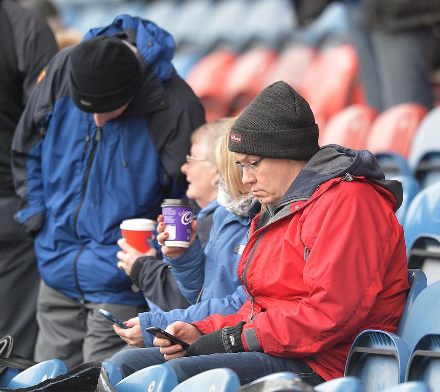 Fans<br /> <br /> Photographer Dave Howarth/CameraSport<br /> <br /> Football - The Football League Sky Bet Championship - Huddersfield Town v Preston North End - Saturday 26th December 2015 - The John Smith's Stadium - Huddersfield<br /> <br /> &copy; CameraSport - 43 Linden Ave. Countesthorpe. Leicester. England. LE8 5PG - Tel: +44 (0) 116 277 4147 - admin@camerasport.com - www.camerasport.com
