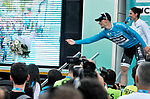 Sam Bennett (IRL) Bora-Hansgrohe wins Stage 2 of the Presidential Cycling Tour of Turkey 2017 running 206km from Kumluca to Fethiye, Turkey. 11/10/2017.<br /> Picture: Brian Hodes/VeloImages | Cyclefile<br /> <br /> <br /> All photos usage must carry mandatory copyright credit (&copy; Cyclefile | Brian Hodes/VeloImages)