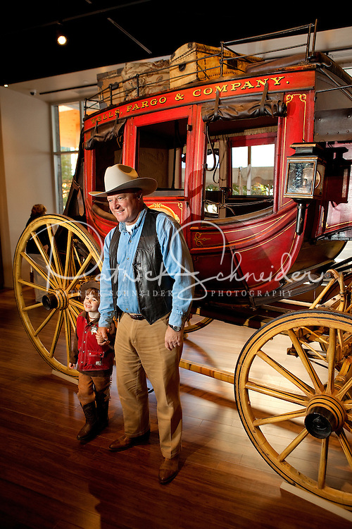 Visitors to the Wells Fargo Community Celebration in late October 2011 got to experience riding in the Wells Fargo Stagecoach, a historical feature that continues to be an icon of the financial services giant..Thousands of Charlotteans and visitors flocked to downtown Charlotte on Saturday, October 29, 2011, for the Wells Fargo Community Celebration. The daylong festival took place in the streets, in public atriums and in downtown museums, which offered free admission all day long. Wells Fargo, which this month completed its conversion from Wachovia, picked up the bill.