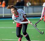 TILBURG  - hockey-  Lotte van Dongen (MOP)  voor de wedstrijd Were Di-MOP (1-1) in de promotieklasse hockey dames. COPYRIGHT KOEN SUYK