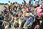 NELSON, NEW ZEALAND - MARCH 5: Sport Tasman 2017 Muddy Buddy on March 5, 2017 in Nelson, New Zealand. (Photo by: Chris Symes/Shuttersport Limited)