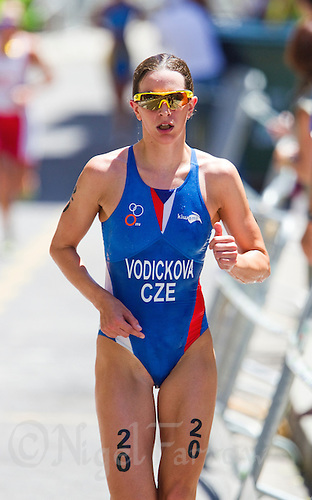 25 JUN 2011 - PONTEVEDRA, ESP - Radka Vodickova (CZE) - Elite Women's European Triathlon Championships in Pontevedra, Spain (PHOTO (C) NIGEL FARROW)