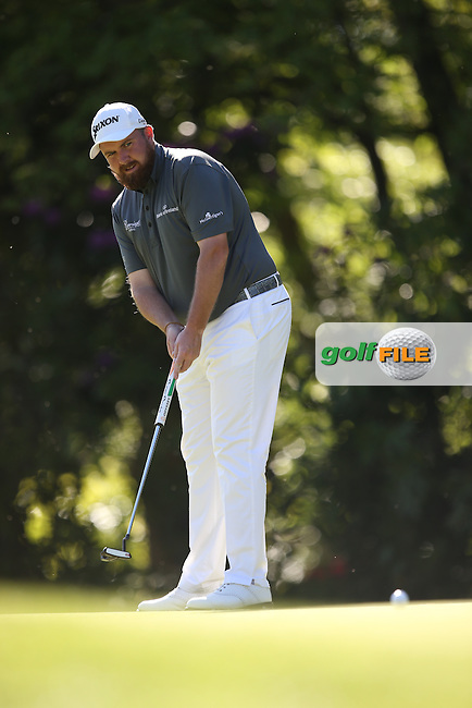 Shane LOWRY (IRL) during Round One of the 2015 BMW PGA Championship over the West Course at Wentworth, Virginia Water, London. 21/05/2015Picture David Lloyd, www.golffile.ie.