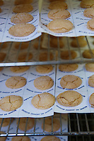 """Europe/France/Aquitaine/Gironde/Saint-Emilion: préparation des Macarons de Saint-Emilion chez Danièle Blanchez """"Les Macarons de Saint-Emilion """" 9 rue Guadet"""