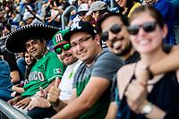 Aficionados  con gorra de Mexico.<br /> .<br /> Partido de beisbol de la Serie del Caribe con el encuentro entre Caribes de Anzo&aacute;tegui de Venezuela  contra los Criollos de Caguas de Puerto Rico en estadio Panamericano en Guadalajara, M&eacute;xico,  s&aacute;bado 5 feb 2018. <br /> (Foto: Luis Gutierrez)<br /> <br /> Baseball game of the Caribbean Series with the match between Caribes de Anzo&aacute;tegui of Venezuela against the Criollos de Caguas of Puerto Rico, at the Pan American Stadium in Guadalajara, Mexico, Saturday, February 5, 2018.<br /> (Photo: Luis Gutierrez)
