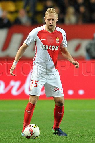 26.11.2016. Monaco, France. French League 1 football. Monaco versus Marseille.  Kamil GLIK (asm)