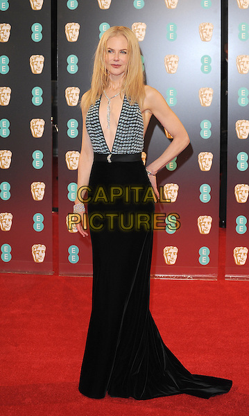 LONDON, ENGLAND - FEBRUARY 12: Nicole Kidman attends the 70th EE British Academy Film Awards (BAFTA) at Royal Albert Hall on February 12, 2017 in London, England.<br /> CAP/BEL<br /> &copy;BEL/Capital Pictures
