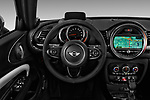 Car pictures of steering wheel view of a 2017 MINI Cooper Clubman-S-ALL4 5 Door Wagon Steering Wheel