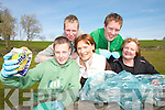 HELPING HANDS: Members of the Killarney-Tralee Road Development Group/Residents Association from Killarney who have a unique roadside project to enhance the area..Front L/r. Danny Sheahan, Kathleen O'Regan Sheppard (chairperson of f the Killarney-Tralee Road Development Group/Residents Association), Yvonne Quill (chairperson of Killarney Tidy Towns committee)..Back L/r. James Barry, Denis Sheahan..    Copyright Kerry's Eye 2008
