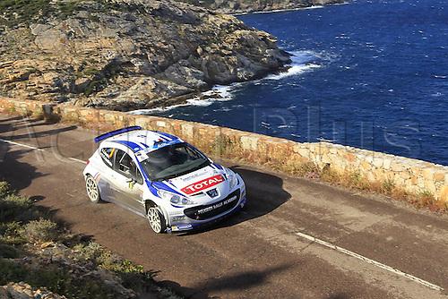 17.05.2013. Corsica.   Jeremy Ancian FRA Peugeot 207 S2000 Automobiles Rally Tour de Corse , Rallye de France.