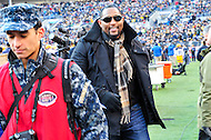 Baltimore, MD - DEC 10, 2016: Former Baltimore Raven Ray Lewis was in attendance during game between Army and Navy at M&T Bank Stadium, Baltimore, MD. (Photo by Phil Peters/Media Images International)