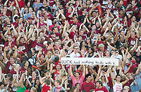 Stanford, Ca - Saturday, September 15, 2012: The Stanford Cardinal defeated the USC Trojans 21-14.