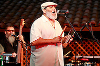 May 30, 2009:  Poncho Sanchez at the 'Rhythm on the Vine' charity event to benefit Shriners Children Hospital held at  the Gainey Vineyard in Santa Ynez, California..Photo by Nina Prommer/Milestone Photo