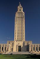 State Capitol, Louisiana, Baton Rouge, State House, LA, Louisiana's State Capitol Building in the capital city of Baton Rouge.
