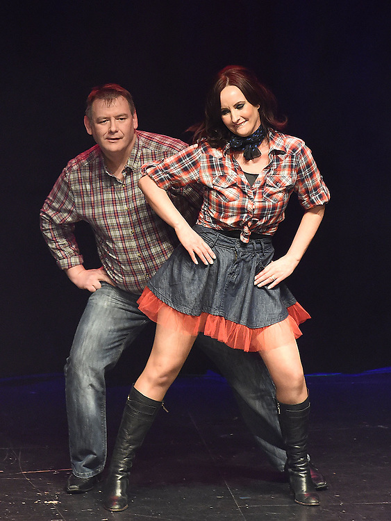 Brendan McGrath and Caroline Darby who took part in the Naomh Fionnbarra Strictly Come Dancing in the TLT. Photo:Colin Bell/pressphotos.ie