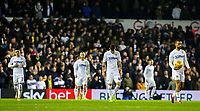 Leeds United players react to going 2-1 down<br /> <br /> Photographer Alex Dodd/CameraSport<br /> <br /> The EFL Sky Bet Championship - Leeds United v Blackburn Rovers - Wednesday 26th December 2018 - Elland Road - Leeds<br /> <br /> World Copyright © 2018 CameraSport. All rights reserved. 43 Linden Ave. Countesthorpe. Leicester. England. LE8 5PG - Tel: +44 (0) 116 277 4147 - admin@camerasport.com - www.camerasport.com