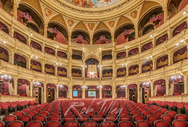 Europe, Hungary, Budapest, Hungarian State Opera House