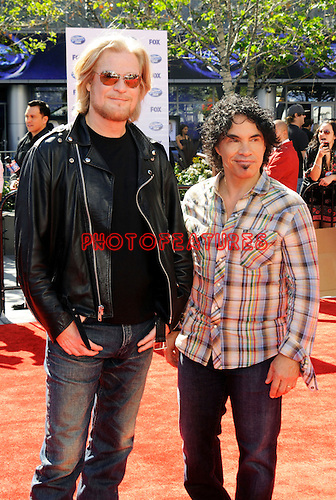Daryl Hall and John Oates at the 2010 American Idol Finale at Nokia Theatre in Los Angeles, May 26th 2010...Photo by Chris Walter/Photofeatures