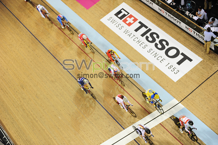 Picture by Simon Wilkinson/SWpix.com - 05/11/2016 - Cycling - 2016 UCI Track Cycling World Cup, Day 2 - Sir Chris Hoy Velodrome, Glasgow, United Kingdom - The Brief - branding,VIP,dining