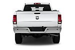 Straight rear view of a 2017 Ram Ram 2500 Pickup Tradesman 4wd Crew Cab LWB 4 Door Pick Up stock images