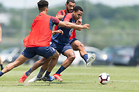 Annapolis, MD- June 3, 2019: USMNT Training at U.S. Naval Academy.