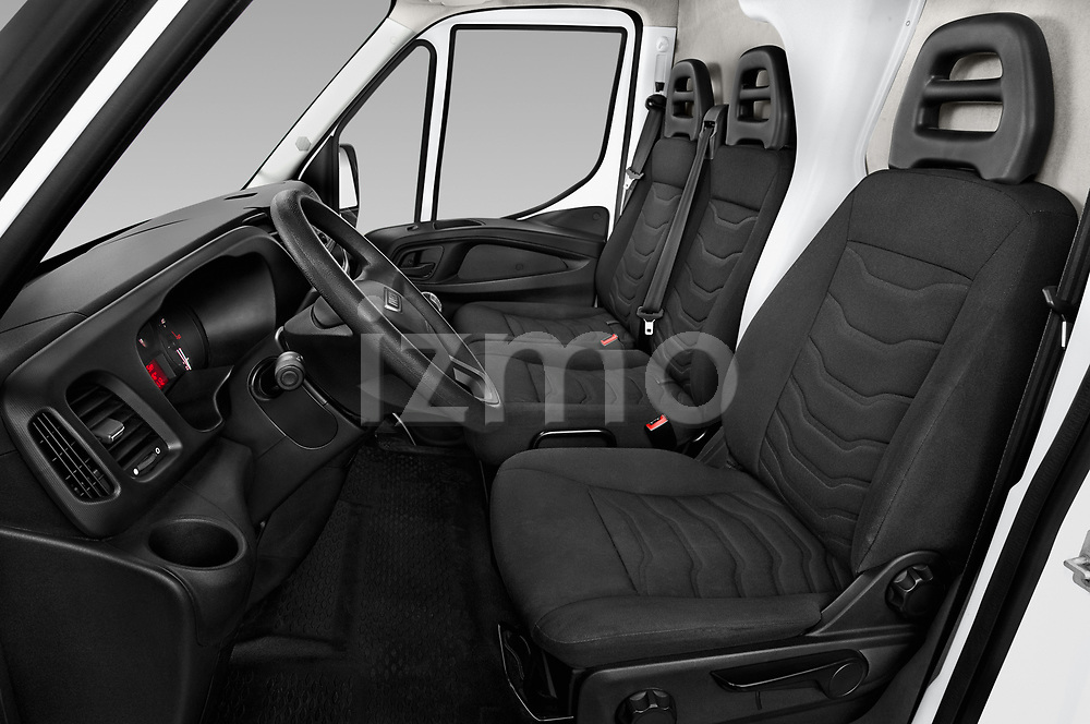 Front seat view of 2018 Iveco Daily 35S 4 Door Cargo Van Front Seat  car photos