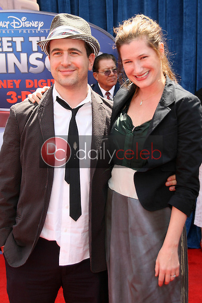 Ethan Sandler and Kathryn Hahn<br />at the World Premiere of &quot;Meet the Robinsons&quot;. El Capitan Theater, Hollywood, CA. 03-25-07<br />Dave Edwards/DailyCeleb.com 818-249-4998