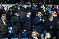 Leeds United fans soak up the atmosphere as they wait for kick-off<br /> <br /> Photographer Rich Linley/CameraSport<br /> <br /> The EFL Sky Bet Championship - Leeds United v Reading - Tuesday 27th November 2018 - Elland Road - Leeds<br /> <br /> World Copyright &copy; 2018 CameraSport. All rights reserved. 43 Linden Ave. Countesthorpe. Leicester. England. LE8 5PG - Tel: +44 (0) 116 277 4147 - admin@camerasport.com - www.camerasport.com