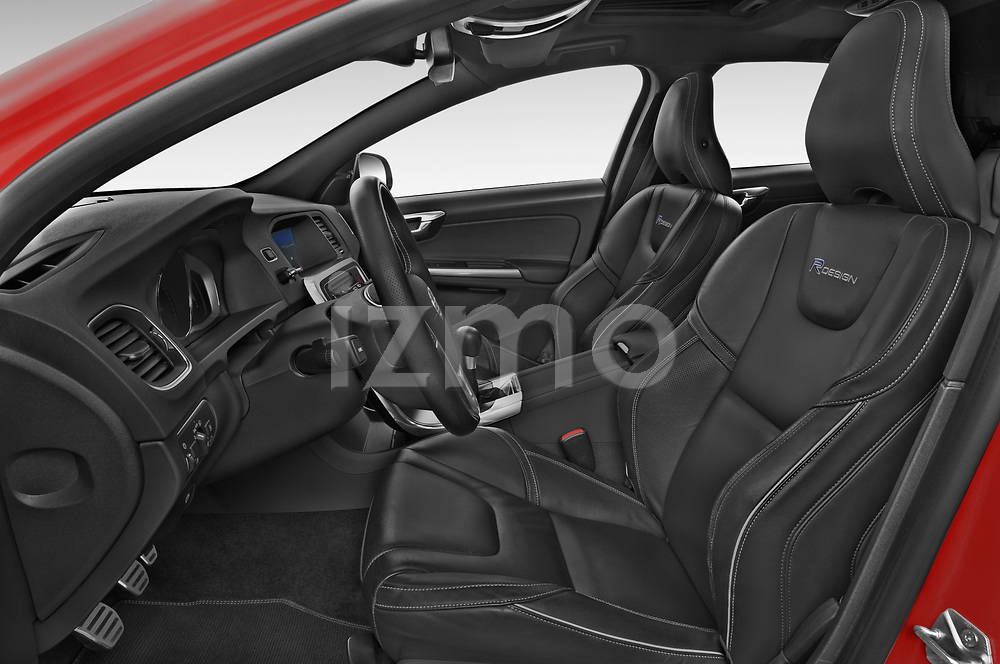 Front seat view of 2017 Volvo V60 T6-R-Design 5 Door Wagon Front Seat  car photos