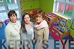 Staff members at Adapt womens refuge in Tralee, from left: Fiona Griffin, Outreach Support, Noreen Breen, Childcare Co-Ordinator and Kate Hattar Admin.
