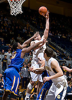 Robert Thurman of California shoots the ball during the game against SJSU at Haas Pavilion in Berkeley, California on December 7th, 2011.   California defeated San Jose State, 81-62.