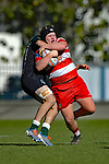 NELSON, NEW ZEALAND - AUGUST 15: Div 2 Rugby - WOB v Huia, Trafalgar Park, 15th August, New Zealand. (Photos by Barry Whitnall/Shuttersport Limited)