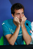 2nd January 2020; RAC Arena , Perth, Western Australia, Australia; ATP Cup Team Press conferences, Spain; Albert Ramos-Vinolas of Spain at the teams press conferences - Editorial Use