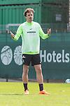 11.04.2018, Trainingsgelaende, Bremen, GER, 1.FBL, Training SV Werder Bremen<br /> <br /> im Bild<br /> Thomas Delaney (Werder Bremen #06), <br /> <br /> Foto &copy; nordphoto / Ewert