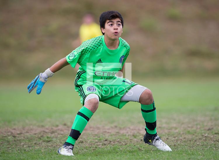 Advance, NC - October 29, 2017: The U.S. Soccer Development Academy 2017 U-13/U-14 East Regional Showcase at BB&T Soccer Park.