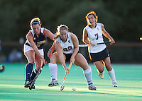STANFORD, CA - September 3, 2010: Katherine Donner (22) during a field hockey match against UC Davis in Stanford, California. Stanford won 3-1.