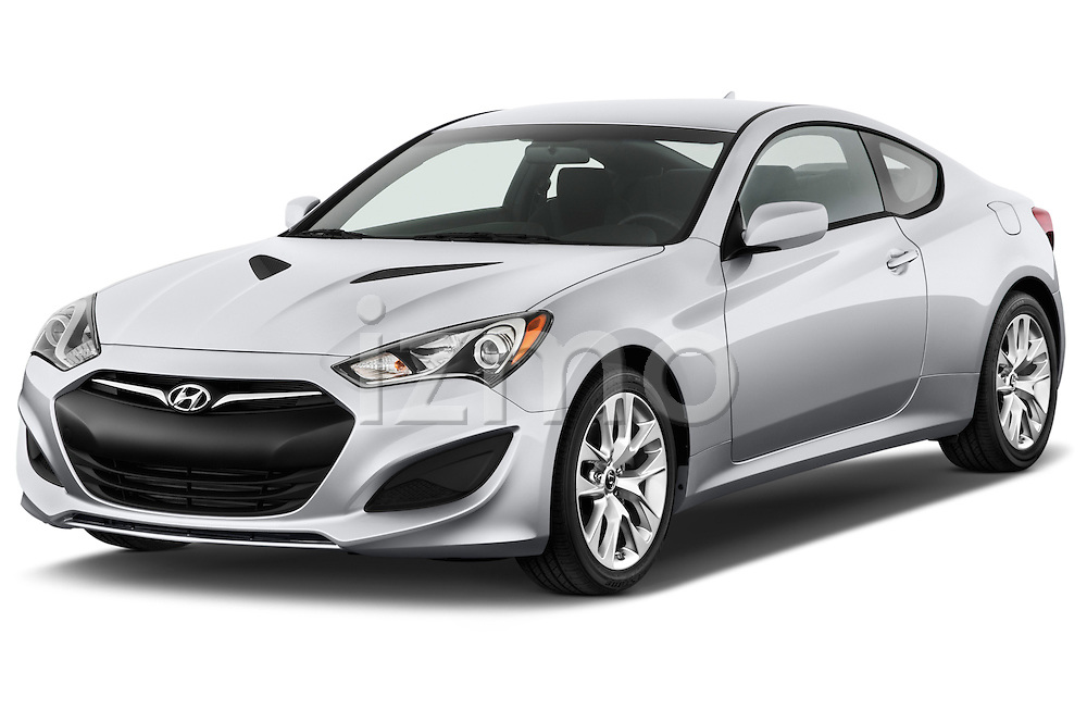 Front three quarter view of a .2013 Hyundai Genesis Coupe 2.0T