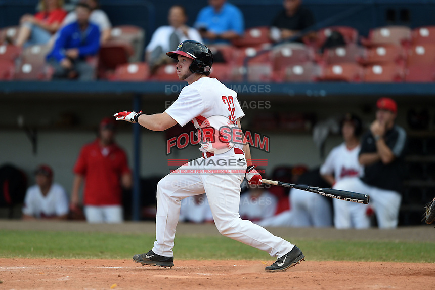Illinois State Redbirds Daniel Dwyer (32) during a game against the Bowling Green Falcons on March 11, 2015 at Chain of Lakes Stadium in Winter Haven, Florida.  Illinois State defeated Bowling Green 8-7.  (Mike Janes/Four Seam Images)