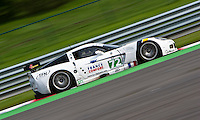 The Corvette C6R #72 LMGT1, Luc Alphand-Patrice Goueslard-Yann Clairay, Team Alphand Aventures, finish the race at first place in LMGT1 category, Sunday, May 10, 2009, in Spa-Francorchamps, Belgium (Valentin Bianchi/pressphotointl.com)