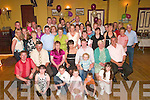 Celebrations: Fidelma Collins, Abbeyfeale (seated centre), danced the night away celebrating her 21st birthday with family & friends at The Gables, Athea, on Friday night...(0872947017)