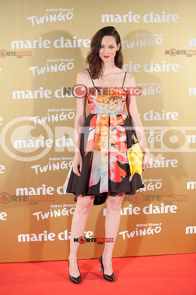 Carla Crombie attends Marie Claire´s XII Fashion Prix ceremony in Madrid, Spain. November 19, 2014. (ALTERPHOTOS/Victor Blanco)