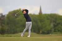 Jacob McGoldrick (Enville) on the 5th tee during Round 3 of the Lytham Trophy, held at Royal Lytham & St. Anne's, Lytham, Lancashire, England. 05/05/19<br /> <br /> Picture: Thos Caffrey / Golffile<br /> <br /> All photos usage must carry mandatory copyright credit (© Golffile | Thos Caffrey)