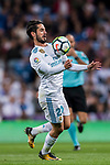 Isco Alarcon of Real Madrid in action during the La Liga 2017-18 match between Real Madrid and SD Eibar at Estadio Santiago Bernabeu on 22 October 2017 in Madrid, Spain. Photo by Diego Gonzalez / Power Sport Images