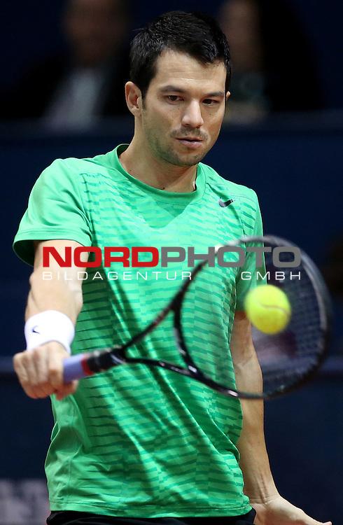 08.02.2014., Dom sportova, Zagreb - ATP PBZ Zagreb Indoors, semi-finals, Marin Cilic (CRO) - Bjorn Phau (GER).<br /> <br /> Foto &copy;  nph / PIXSELL / Igor Kralj